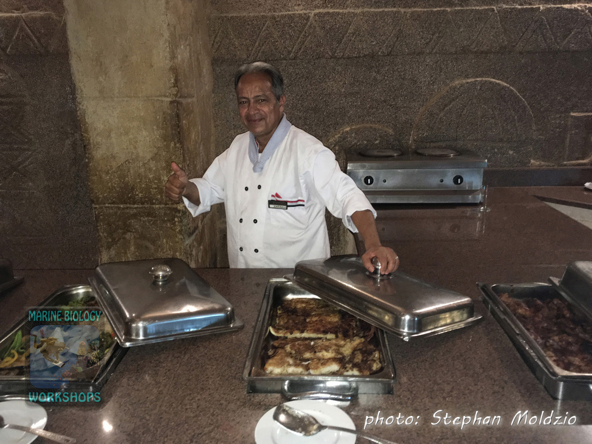 Chef at Marsa Nakari