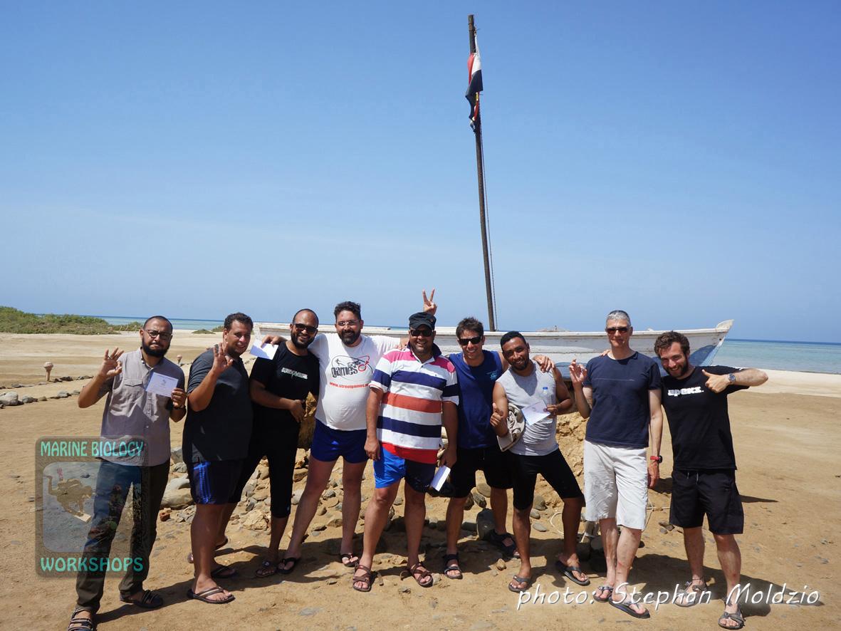 Group photo survey Wadi Lahami